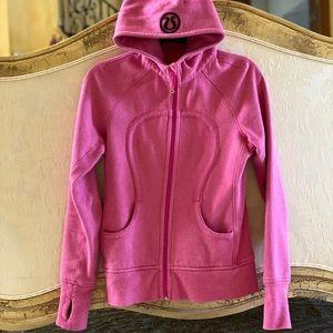 Lululemon limited edition sparkle scuba jacket